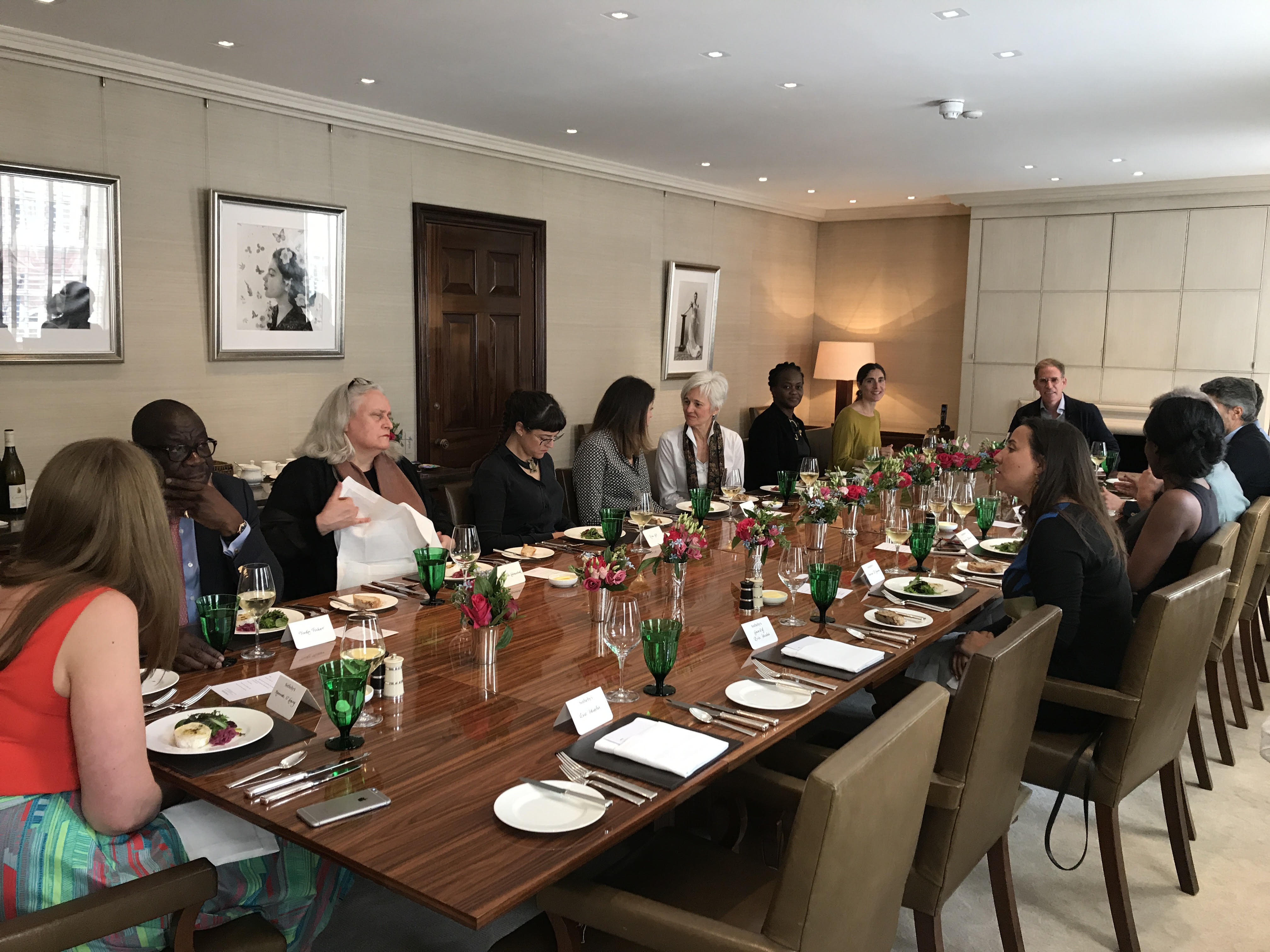 Sotheby's Africa Lunch in London